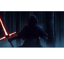 Star Wars VII The Force Awakens Kylo Ren HD Photographic Print