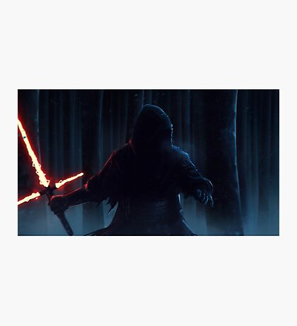 Star Wars VII The Force Awakens Kylo Ren HD Photographic Print
