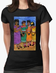 New Sunday Shoes Womens Fitted T-Shirt