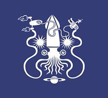 Gargantuan Space Squid Danger Imminent Unisex T-Shirt