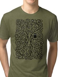 The Owl Tri-blend T-Shirt