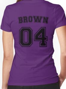 Stephanie Brown Sports Jersey Women's Fitted V-Neck T-Shirt