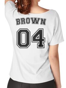 Stephanie Brown Sports Jersey Women's Relaxed Fit T-Shirt