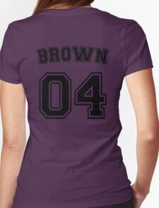 Stephanie Brown Sports Jersey Womens Fitted T-Shirt