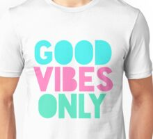 Good Vibes Only Pastel Unisex T-Shirt