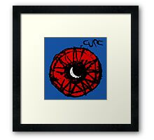 The Cure Wish Moon Framed Print