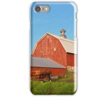 Reed Avenue Barn Textured iPhone Case/Skin