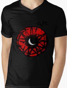 The Cure Wish Moon Mens V-Neck T-Shirt