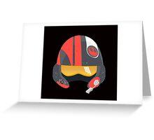 Rebel Helmet - Star Wars Greeting Card