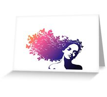 Portrait of Woman #3 Greeting Card