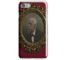 Ancient antique photo iPhone Case/Skin