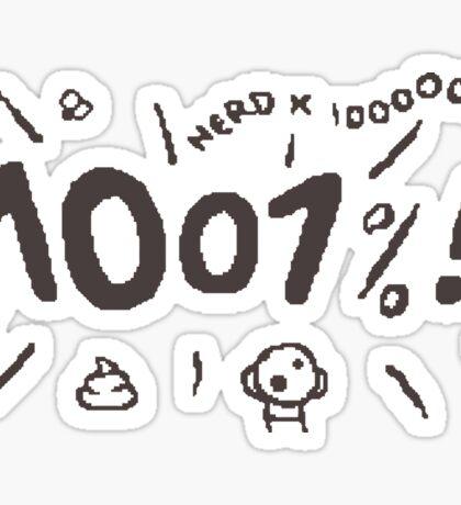 The Binding of Isaac - 1001% Sticker