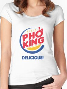 Pho King, Delicious Women's Fitted Scoop T-Shirt