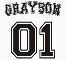 Dick Grayson Sports Jersey One Piece - Short Sleeve