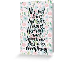 Taylor Swift Quote IIII Greeting Card