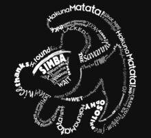 Simba Typo B&W by Myriam-16