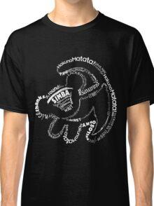 Simba Typo B&W Classic T-Shirt