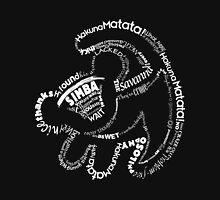 Simba Typo B&W Unisex T-Shirt