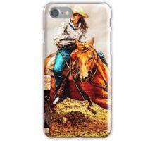 Race the Barrels iPhone Case/Skin