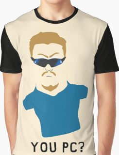 You PC Bro?  Southpark PC Principal (on white) Graphic T-Shirt