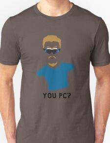 You PC Bro?  Southpark PC Principal (on white) T-Shirt