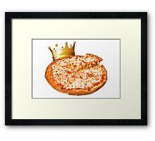 Pizza King Framed Print