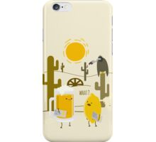 Wrong place iPhone Case/Skin