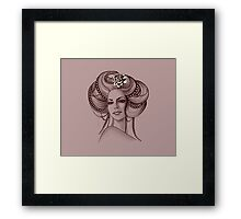Portrait of Woman #8 Framed Print