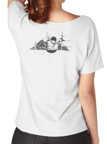 Mountains in a world of their own Women's Relaxed Fit T-Shirt