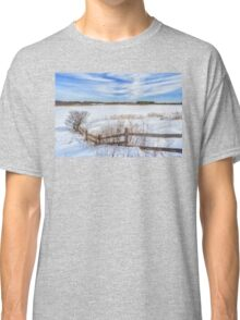 Bill Forward Pool of winter snow Classic T-Shirt