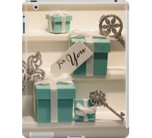 Tiffany's Key to Your Heart iPad Case/Skin