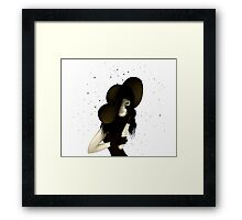 Portrait of Woman #9 Framed Print