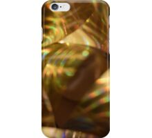 Golden Ribbon iPhone Case/Skin