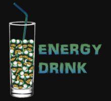 Mario Up Energy Drink spot Kids Tee