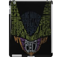 Dragon Ball Z - Cell - Typography  iPad Case/Skin