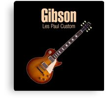 Gibson Les Paul Custom Canvas Print