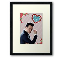 I Will Burn The Heart Out Of You :*) Framed Print