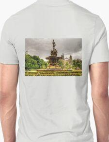 Ross Fountain and St Cuthbert's Church Unisex T-Shirt