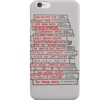 Haruki Murakami Book Fan iPhone Case/Skin