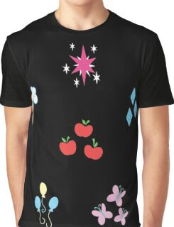 My little Pony - Elements of Harmony Cutie Mark Special Graphic T-Shirt