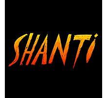Colorful Shanti Photographic Print