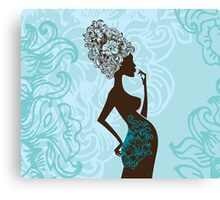 Beautiful pregnant woman #2 Canvas Print