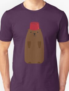 The Big Groundhog in a Fez T-Shirt