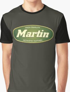 High Quality  Martin Acoustic Guitars Graphic T-Shirt