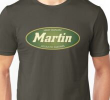 High Quality  Martin Acoustic Guitars Unisex T-Shirt