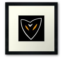 Team IronCrow Logo Framed Print