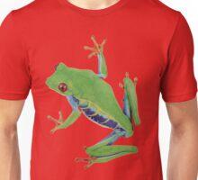 Little green rainforest frog Unisex T-Shirt