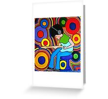 Guitar Free Greeting Card
