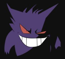 Gengar in Shadows Kids Clothes