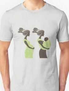 Beautiful pregnant woman #5 Unisex T-Shirt